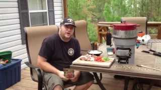 Shrimp And Sausage Gumbo On The Ecozoom Stove Part One Of Two