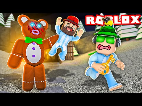 WE ARE BABIES and TEDDY KILLER BEAR ATTACKS US in ROBLOX (Teddy Chapter 2) |