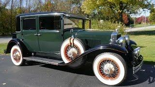 1929 Lasalle Town Sedan 4 Door - Series 328 ***FOR SALE***