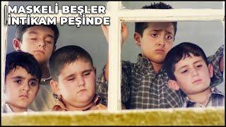 Maskeli Beşler İntikam Peşinde - Maskeli Beşlerin Çocukluğu  Türk Komedi Filmi