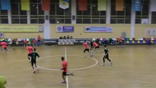 No.5 of the KSLI handball team - centr back Alexander (U16). Ukrainian Championship for men