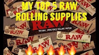 FULL MELT FUSION - TOP 5 RAW ROLLING SUPPLIES NECESSITIES + BONUS! - UNBOXING & REVIEW #RawLife