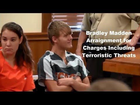 Bradley Madden Arraignment 12/02/15