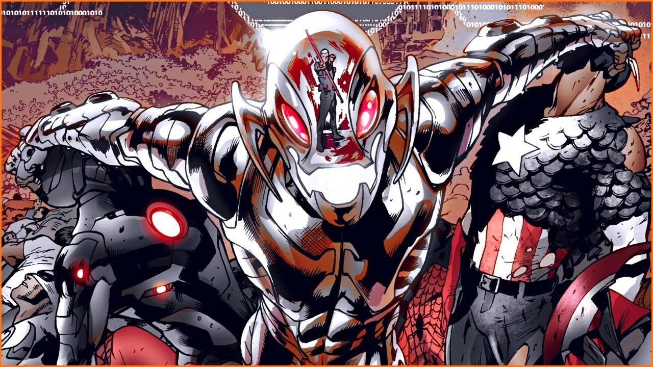 Эра Альтрона: Часть первая! Age of Ultron #1 - #4 + Superior Spider-Man #6: Age of Ultron