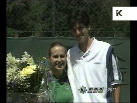 1990s Young Tim Henman Interview, Rare News Report
