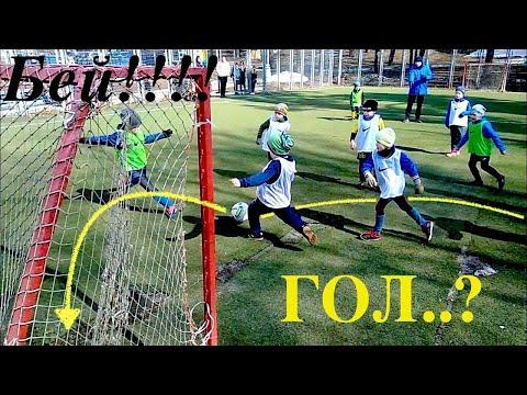 1). Детская футбольная школа в Красногорске (одно из занятий)