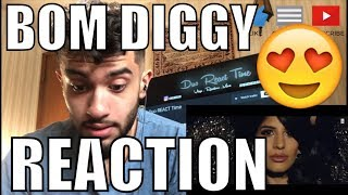 Zack Knight x Jasmin Walia - Bom Diggy (Official Music Video) REACTION!!!