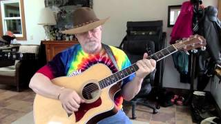 1493  - The Lonesome Death Of Hattie Carroll -  Bob Dylan cover w chords and lyrics
