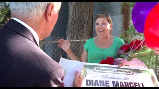 Publishers Clearing House $10,000 Winner in Texas - Diane Marcell