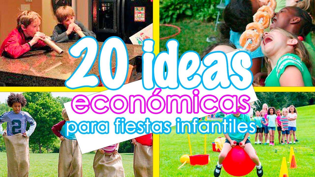 20 Ideas Faciles Y Economicas Para Entretener A Ninos En Fiestas