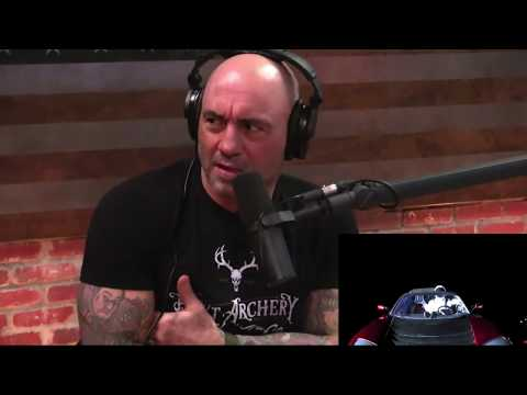 Joe Rogan on Elon Musk Launching a Tesla Into Space & What Eddie Bravo Would Think About It