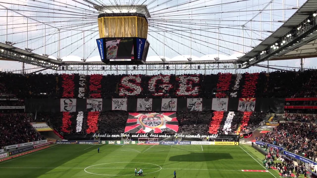 choreo eintracht frankfurt vs erzgebirge aue youtube. Black Bedroom Furniture Sets. Home Design Ideas
