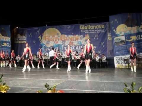 Debrecen Majorette Eguyttes and Brass Band UNGHERIA - XIV FESTIVAL INTERNAZIONALE BANDE MUSICALI
