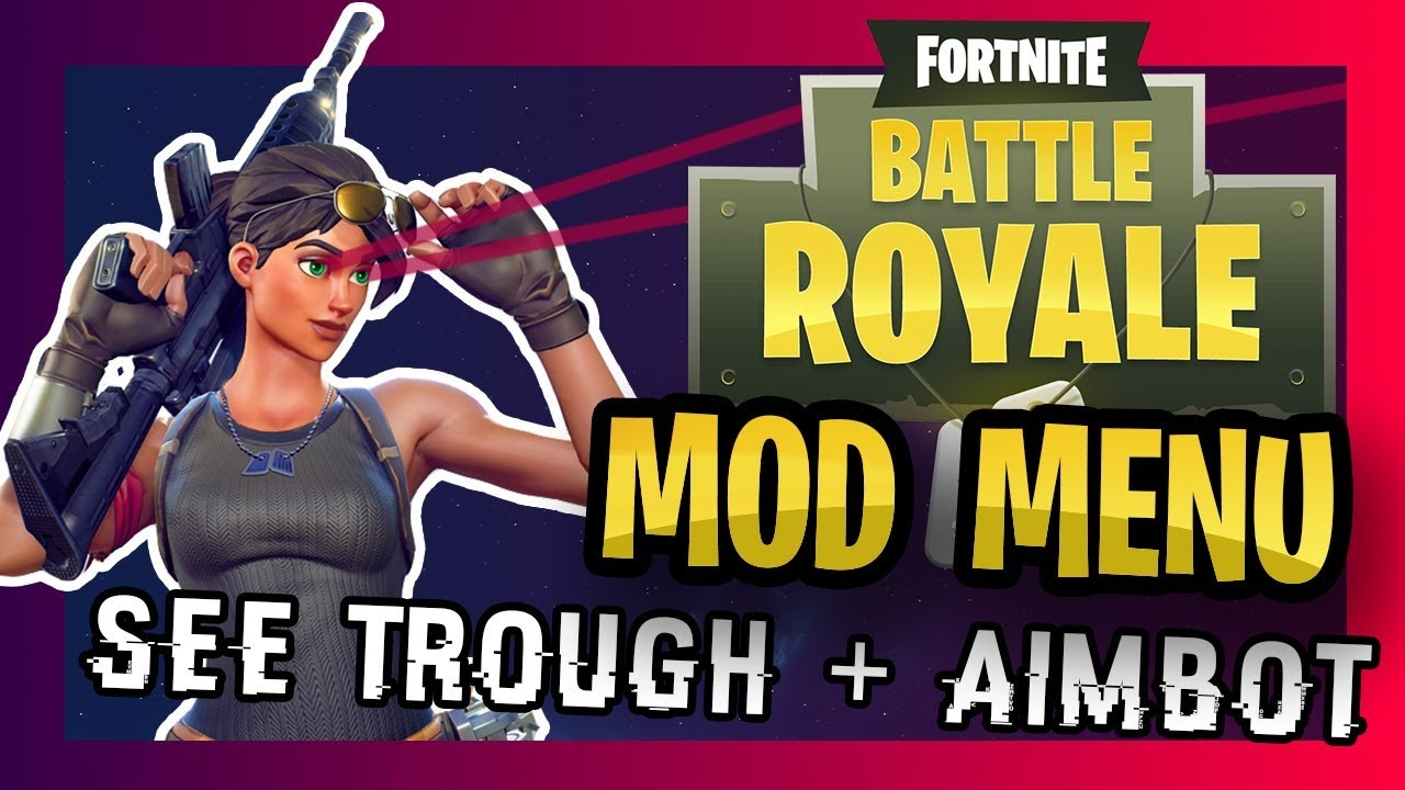 Fortnite AIMBOT + Mod Menu Tutorial : Battle Royale XBOX ...