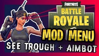 Fortnite AIMBOT + Mod Menu Tutorial : Battle Royale XBOX, PS4, PC Hacks 2018
