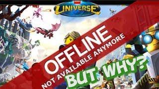 Why Did Lego Universe Shut Down?
