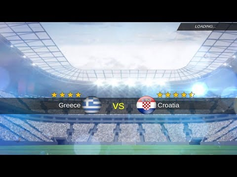 Greece  - Croatia World Cup Playoff  Match mobile soccer league