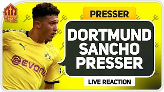 Sancho Dortmund Transfer Update! Man Utd Transfer News