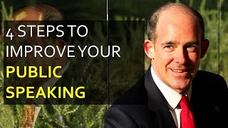 4 Steps to Improve Your Public Speaking