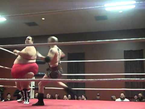 FUW WRESTLING WayneVan Dike vsHard Body Rick Roberts