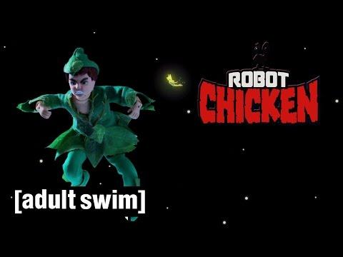 The Best of Peter Pan | Robot Chicken | Adult Swim
