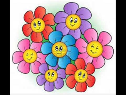 Flower Song Kindergarten Nursery Rhyme