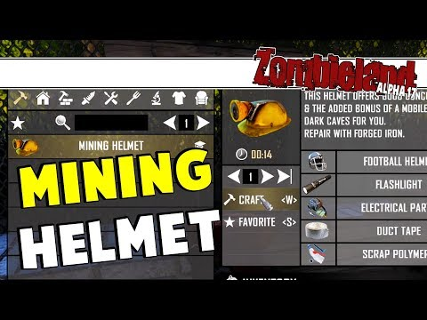 zombieland---mining-helmet-|-7-days-to-die-alpha-17-|-part-12