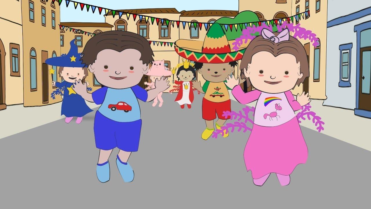 Carnaval Musica Infantile Para Bailar Canciones De