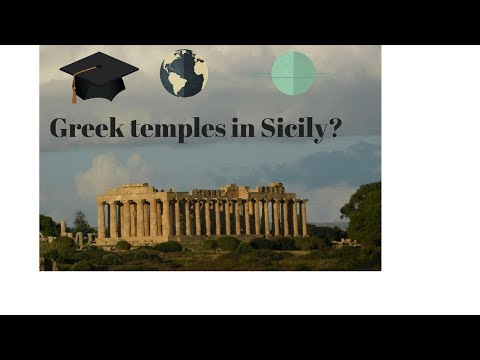 Greek temples in Sicily??