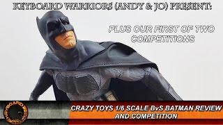 DC COMICS CRAZY TOYS BLUE BATMAN 1//6TH COLLECTIBLE ACTION FIGURE NEW NO BOX