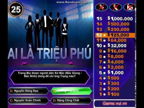 Chơi Game Ai Là Triệu Phú  Game Ai Là Triệu Phú hay nhất  Game.24h.com