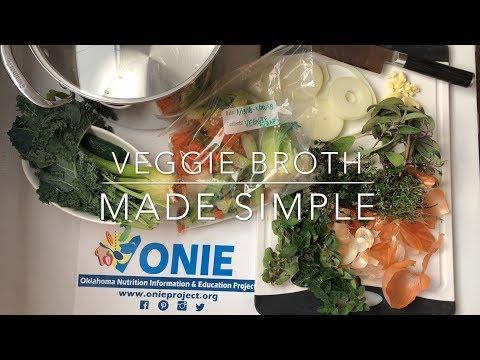 Veggie Broth Made Simple