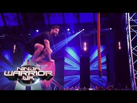 Will Gethin Jones conquer the course? | Ninja Warrior UK
