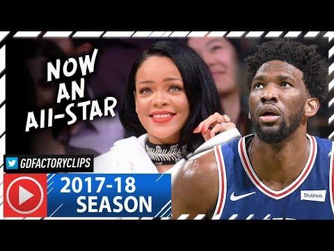 Joel Embiid Full Highlights vs Celtics (2018.01.18) - 26 Pts, 16 Reb, All-STAR!