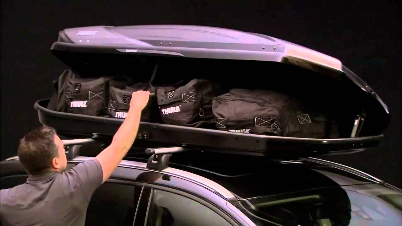 Thule Excellence Roof Box Fitting Guide Youtube