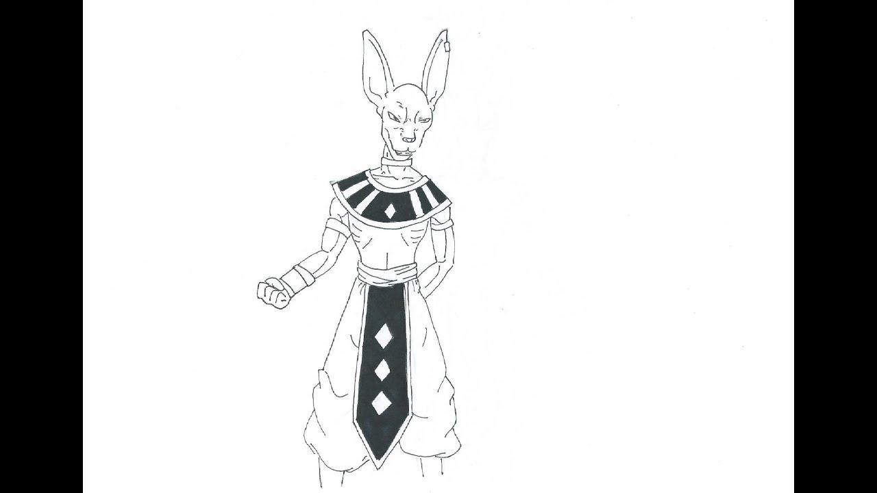 Golden Freezer Para Colorear: Dibujos Dragon Ball Z. Simple Fan Art Dragon Ball Z Dibujo