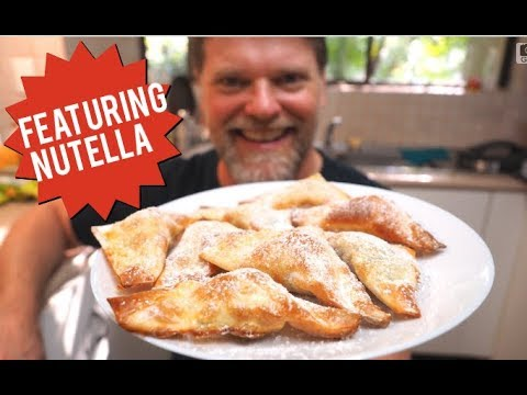 Nutella Banana Wonton Recipe – Greg's Kitchen Dessert