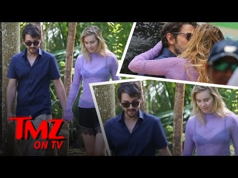 Suki Waterhouse and Diego Luna Pack On The PDA  TMZ TV