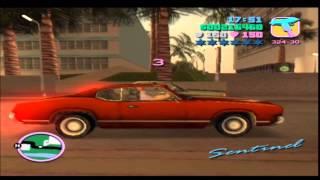 "Grand Theft Auto Vice City - Malibu mission 3 (LOL @ ""treat me bad"") - Commentary"
