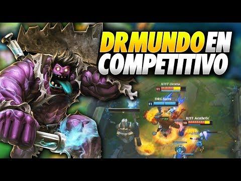 DR MUNDO APARECE EN COMPETITIVO!!   DRAGONS vs KIYF   SLO Resumen Español (LVP)