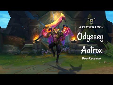 Odyssey Aatrox Epic Skin (Pre-Release)