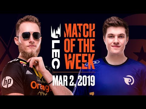 #LEC Match of the Week | Vitality vs Origen | Saturday 2nd