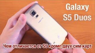 Samsung Galaxy S5 Duos Обзор