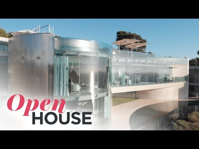 An Architectural Masterpiece on the Razor Point Cliffside | Open House TV