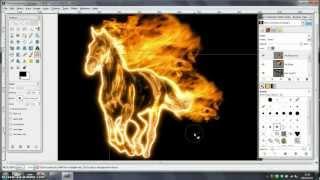 GIMP Tutorial - Fire Effect