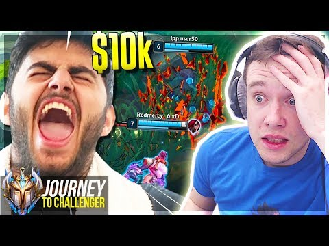 DID I JUST GRIEF MOE FROM WINNING $10K??????????????? - Journey To Challenger  LoL