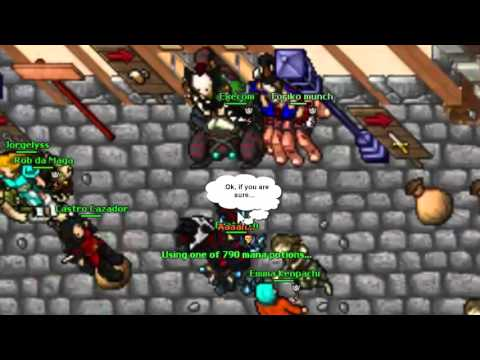 Tibia guia para sorcerer druid doovi for Door 999 tibia