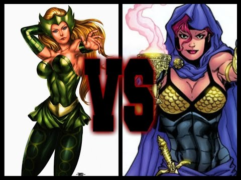 SECTION XXI FANTASY FIGHT-(Enchantress Vs Circe)