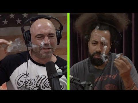 Joe Rogan Explains the Stoned Ape Theory to Reggie Watts