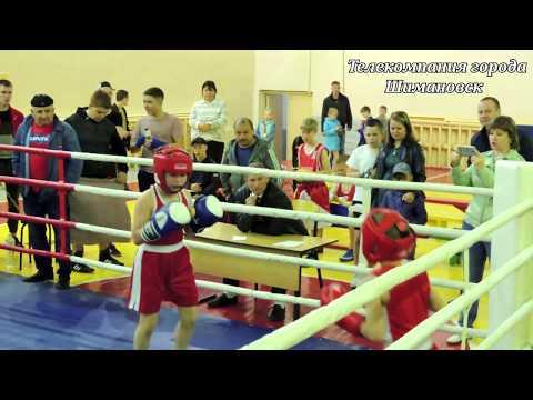 Матчевые встречи по боксу среди юношей. г. Шимановск